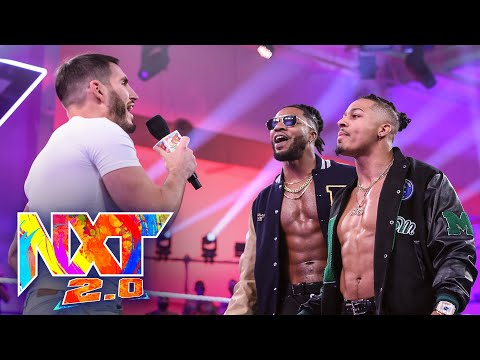Johnny Gargano And Dexter Lumis Crash Carmelo Hayes' Victory Party: WWE NXT, Oct. 19, 2021