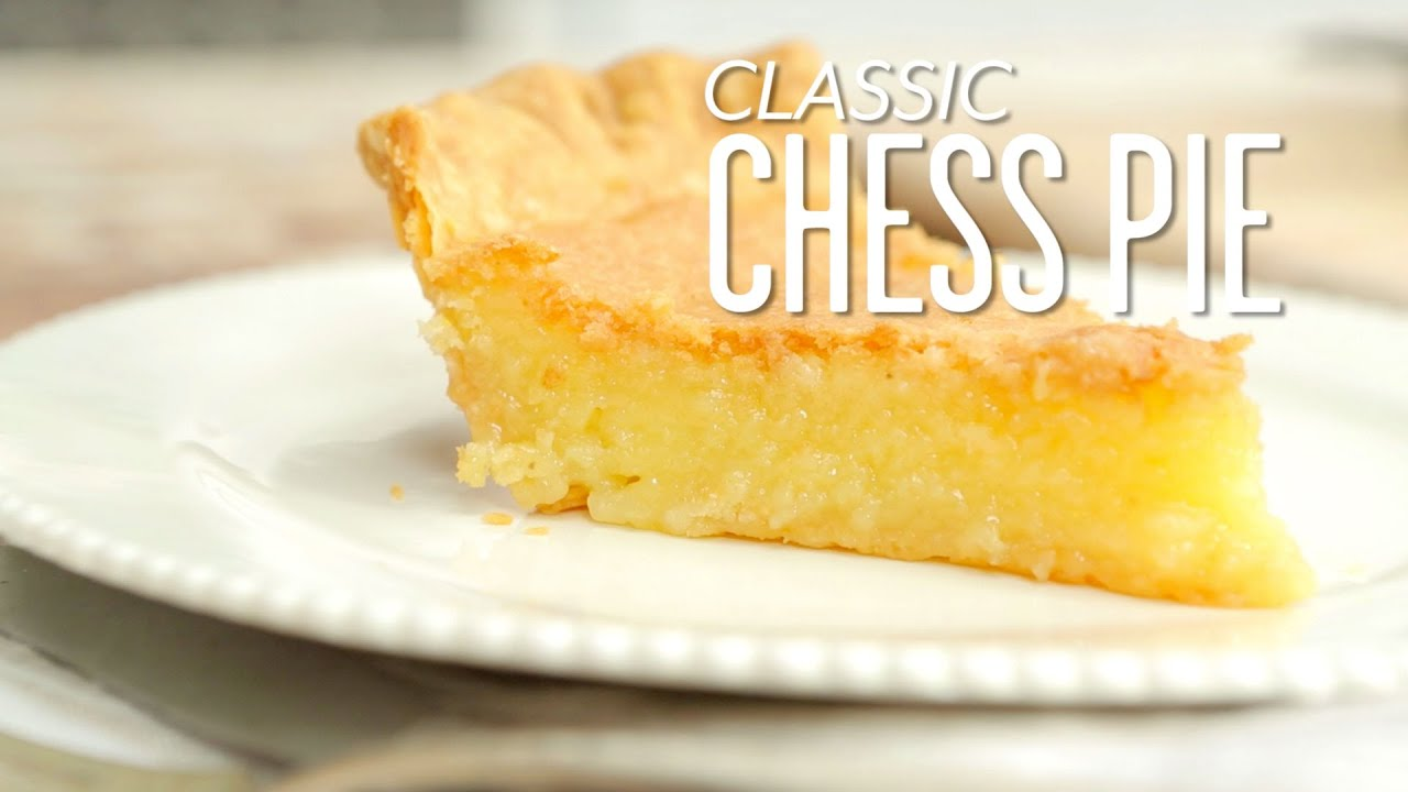 How to make classic chess pie southern living youtube for Southern living login