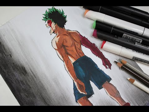 Drawing Midoriya Izuku _ Boku No Hero Academia