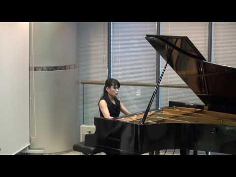 ショパン: 前奏曲変ニ長調 op 28-15 「雨だれ」 演奏:萬谷衣里
