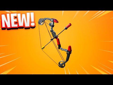 *NEW* EXPLOSIVE BOW in Fortnite! thumbnail
