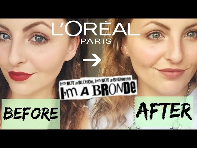 Pineapple Smoothie L Oreal Preference Glam Go Bronde Review