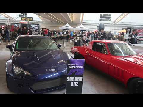 VISITING THE CAR SHOW AT THE DAVID L. LAWRENCE CONVENTION CENTER