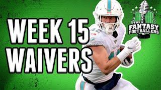 Fantasy Football Week 15 Waiver Wire: DeAndre Washington & Patrick Laird