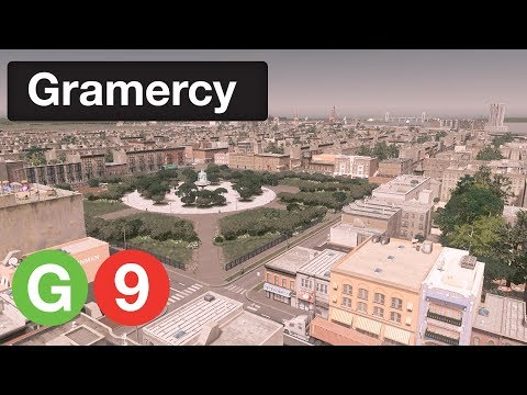 Cities: Skylines: Gramercy | Episode 9 - Halsey - Roebling Neighborhoods