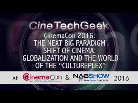 CC16 The next big paradign shift of cinema: Globalisation and the world of the CULTUREPLEX