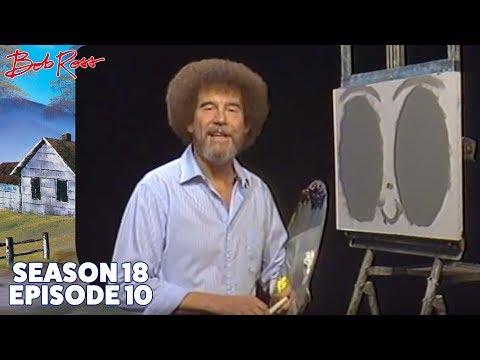 Bob Ross - Double Oval Stream (Season 18 Episode 10)