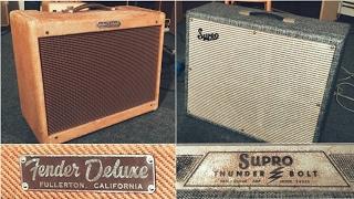 Originals - SUPRO Thunderbolt Vs TWEED Fender Deluxe