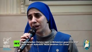 Die gevierteilten Christen lagen in Müllsäcken - Schwester Maria 19.12.2015 - Bananenrepublik