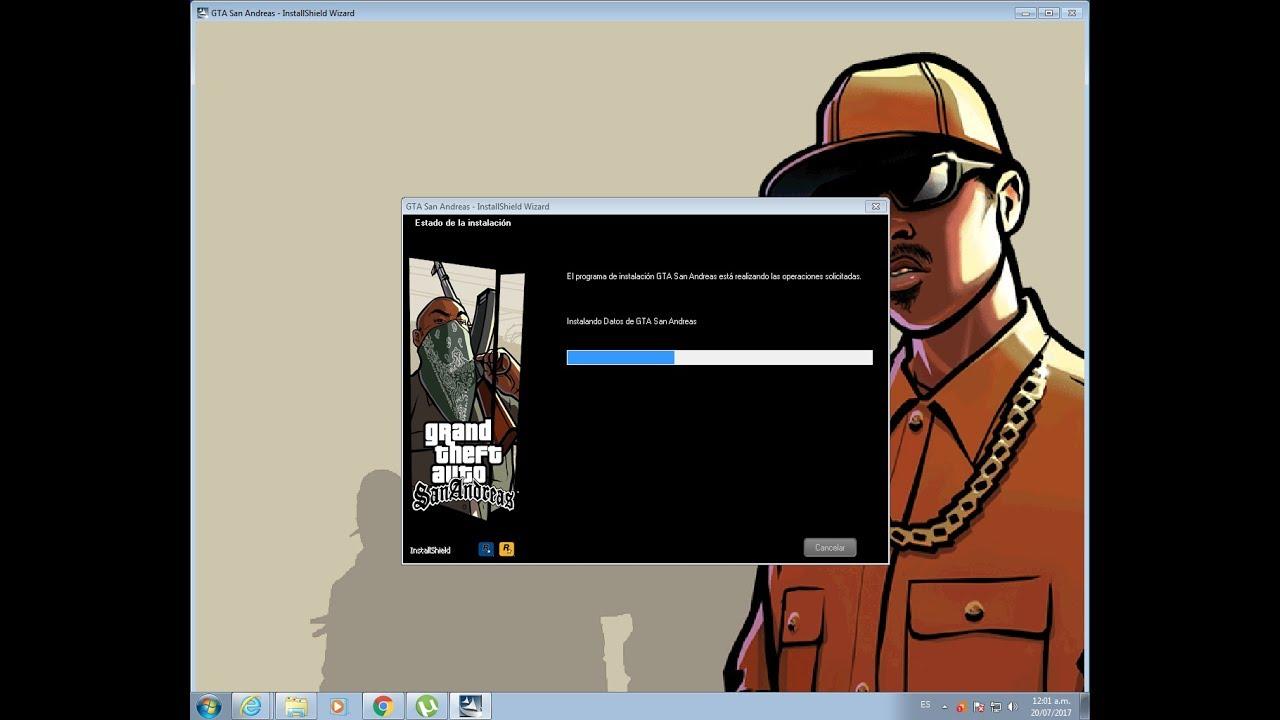descargar gta san andreas para pc windows 10 2017