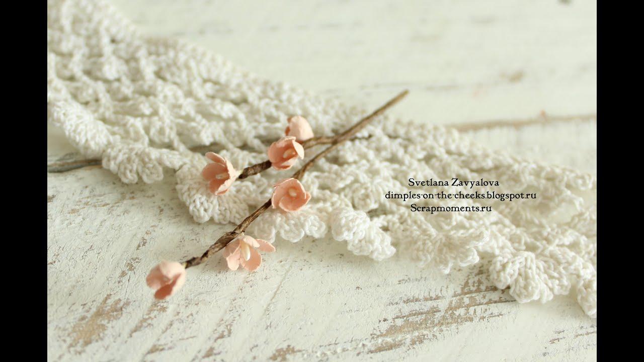 Как сделать цветок из бумаги для скрапбукинга своими руками? 14