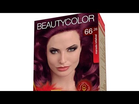 90466e65c7af1 Marsala infalível Beautycolor testando.. - YouTube