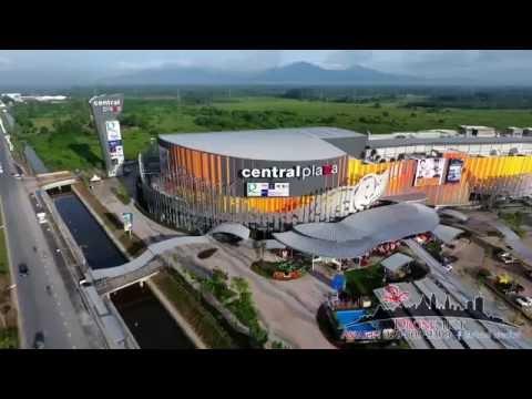 Aerial Shot Central Plaza Nakhon Si Thammarat