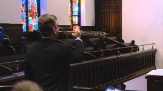 Immanuel Lutheran Church, Easter 2014, James Miller, German natural trumpet
