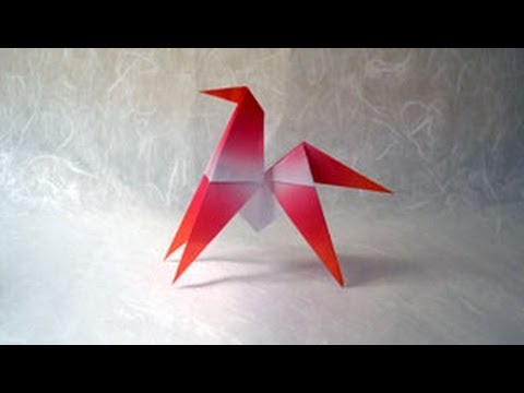 Origami Horse Instructions Origami Fun Youtube