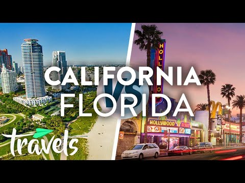 California vs. Florida | MojoTravels Travel Destination Videos