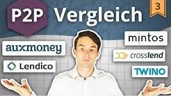 P2P Kredite VERGLEICH: Auxmoney, Mintos, Twino, Lendico, Crosslend   Investieren in P2P Kredite #3