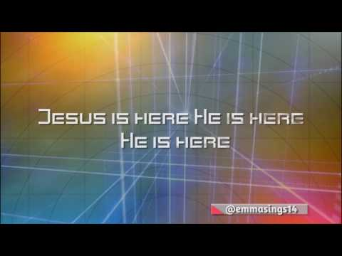 LYRICS VIDEO JESUS IS HERE