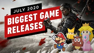 The Biggest Game Releases of July 2020