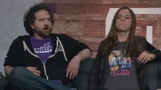 Nerd s E3 Lowkey Stream Bethesda Devolver Digital - E3 2017 - 12th June 2017 - Featuring Rebecca