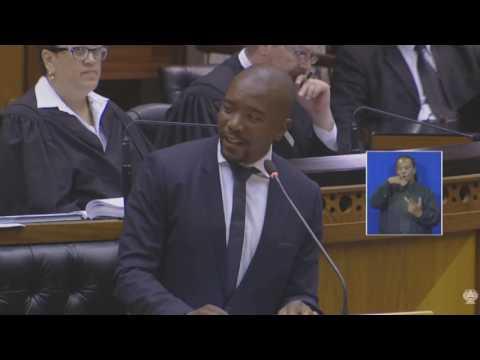 Zuma vote of no confidence: Mmusi Maimane full speech