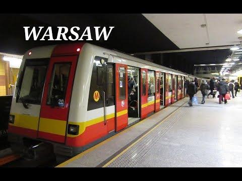 The Warsaw Metro / Metro Warszawskie (Poland)