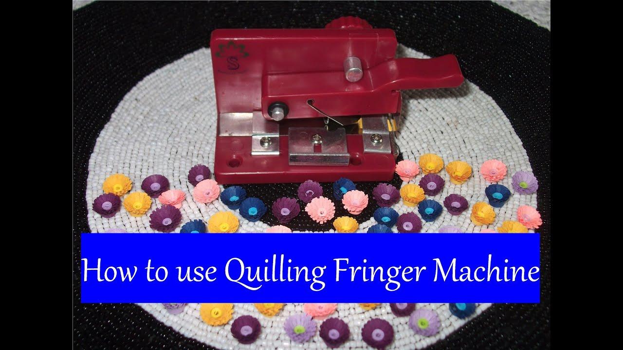 quilling fringer machine