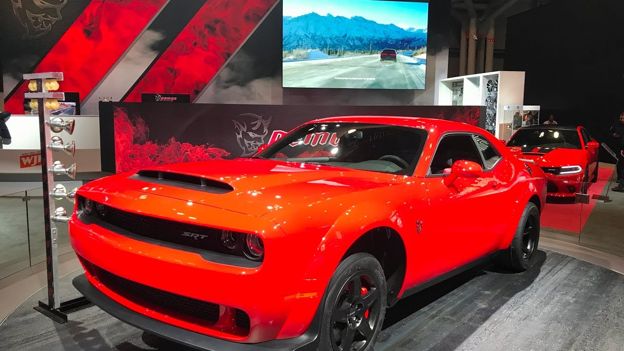 2018 Dodge Demon Specs Overview And Walkaround Nyias 2017