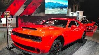 2018 Dodge Demon Specs, Overview, And Walkaround - NYIAS 2017