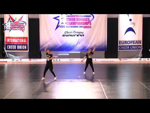 121 JUNIOR DOUBLE CHEER HIP HOP Munišić   Petković LET'S DANCE NEVESINJE BOSNIA & HERZEGOVINA
