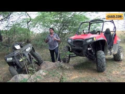 Polaris sportsman 500, Ranger RZR 800 S Review, India