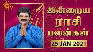 நல்ல காலம் பிறக்குது | ராசிபலன் | Daily Horoscope 25-01-2021