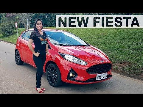 Ford New Fiesta 2018 Titanium em Detalhes