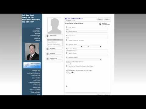 Colorado Mortgage Online Application!