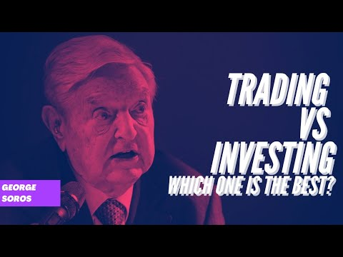 Trading strategies, day trading vs long term investing. which one is profitable? George Soros