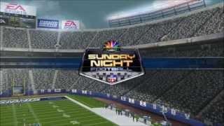 Sunday Night Football on NBC - Madden 08 PC