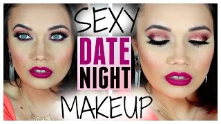 Sexy DATE NIGHT Full Face Makeup Tutorial