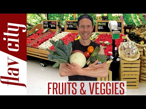 How To Safely Wash & Store ALL Fruits & Veggies...And What To Buy Organic!
