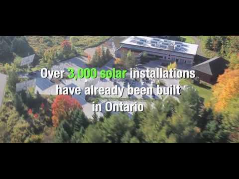 Solar Energy Power in Ontario