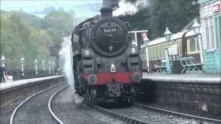 North Yorkshire Moors Railway Holiday D8 Green Timetable Thursday 15th October 2015