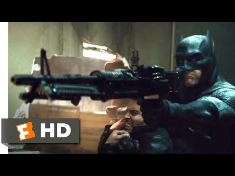 Batman v Superman: Dawn of Justice 2016  Warehouse Rescue  710  Movies