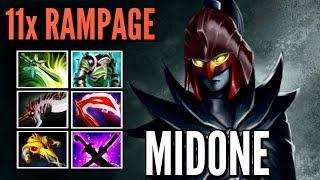 MidOne Phantom Assassin Rampage God vs nb Monkey King Epic MMR Gameplay Patch 7.00 Dota 2