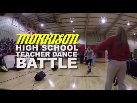 Teacher dance battle @Morrison high school