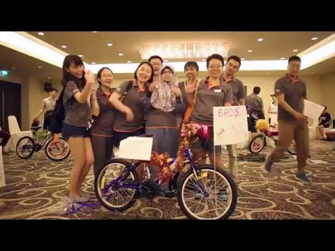 PLAYER GROUP - Build-A-Bike Team Building Concept Singapore