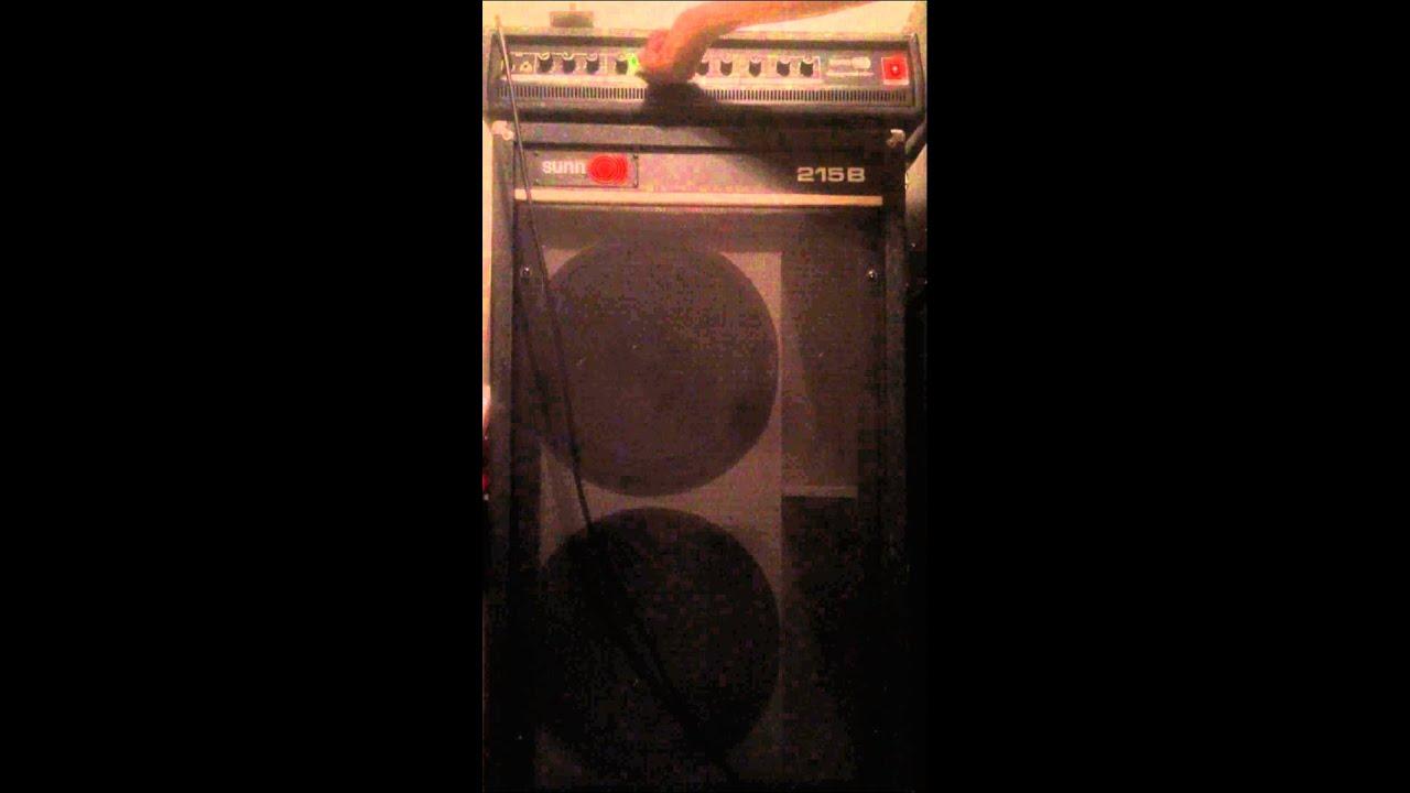 Sunn Stagemaster with a Sunn 215B (Guitar)
