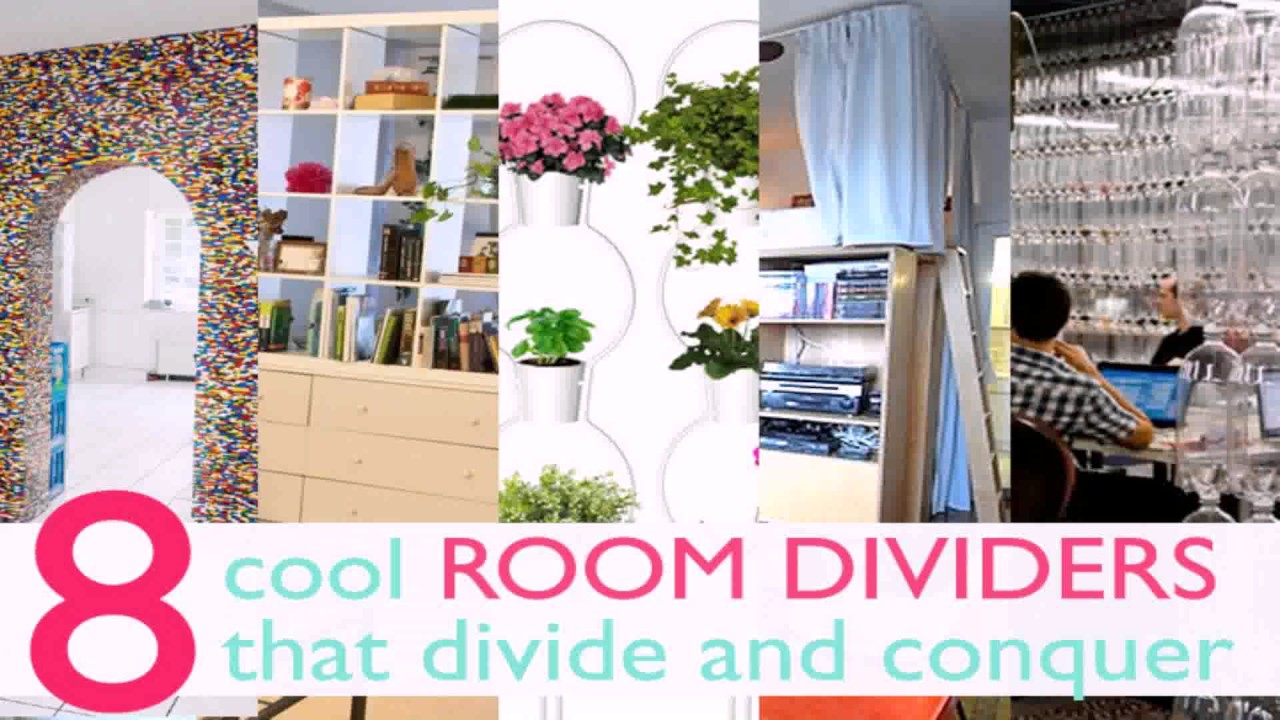 Diy Room Divider Ideas For Studio Apartments - YouTube