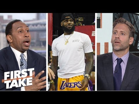 Max sees LeBron's reign as king of the NBA coming to an end | First Take | ESPN
