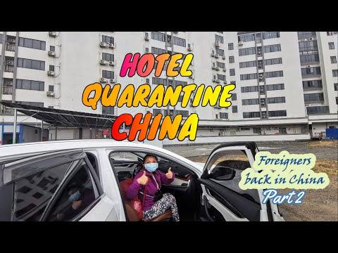 HOTEL QUARANTINE IN GUANGZHOU CHINA | FOREIGNERS RETURN TO CHINA PART 2