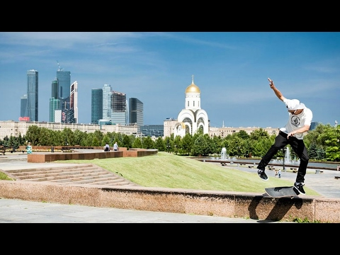 Street Skating on Perfect Moscow Marble | Skate of Mind: Russia Chapter 1