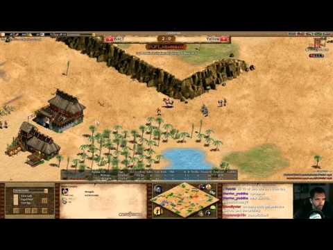 1v1 arabia invitational BacT vs Yellow Game 3 Britons vs Mongols